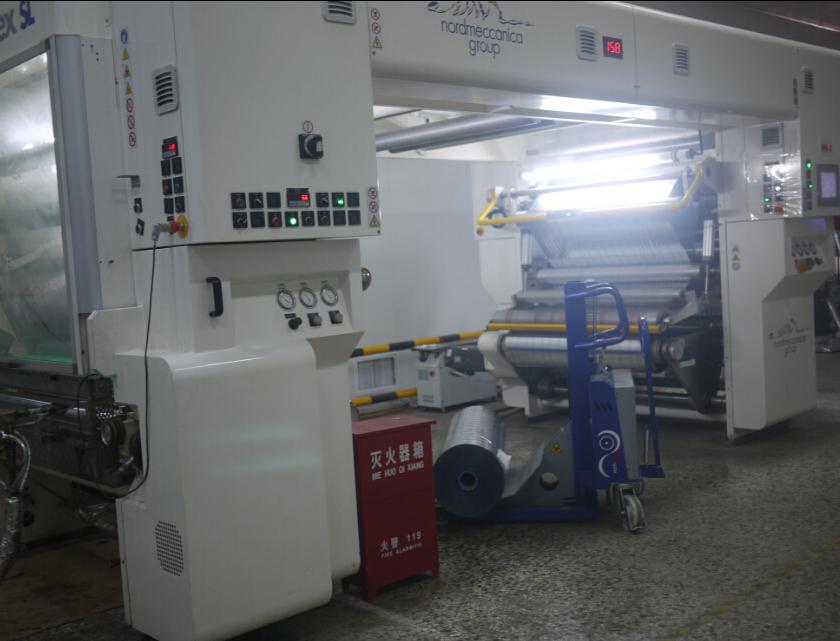 В мае 2013 года, два набора Италии nordmaccenica без растворителя ламинатор был введен в эксплуатацию.